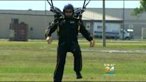 Wounded Warriors Go Parachuting In South Florida
