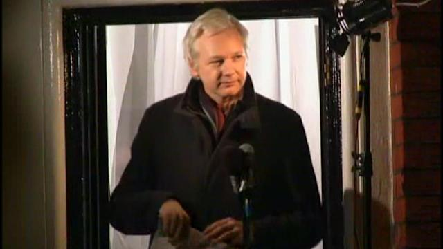 WikiLeaks founder speaks
