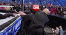 Trump tweets video of himself slamming and punching 'CNN'