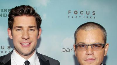 Damon and Krasinski Deliver 'Promised Land'
