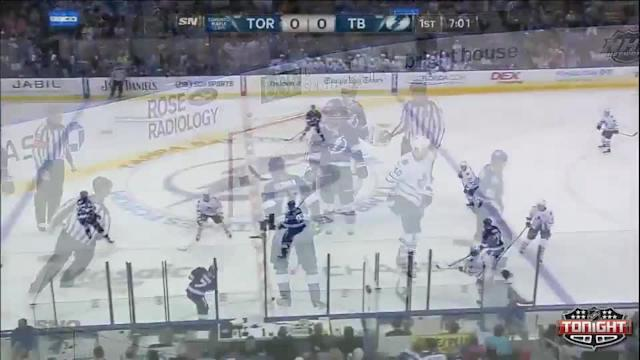 Toronto Maple Leafs at Tampa Bay Lightning - 04/08/2014