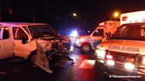 14 injured in two-vehicle Lakewood accident