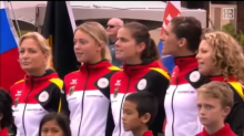 'Epitome of ignorance': U.S. accidentally plays Nazi-era German anthem at Fed Cup