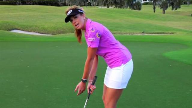 Putting - Paula Creamer: Short-Putt Drill