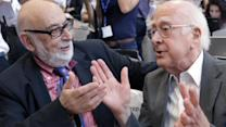 Higgs boson scientists share Nobel Prize for physics