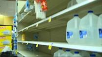 Storm Prep Leaves Empty Store Shelves in Georgia