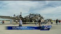 B-17 bomber visits Council Bluffs