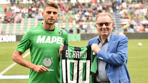 Sassuolo owner blasts Italy boss over Berardi omission