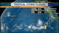 Depression becomes Tropical Storm Flossie